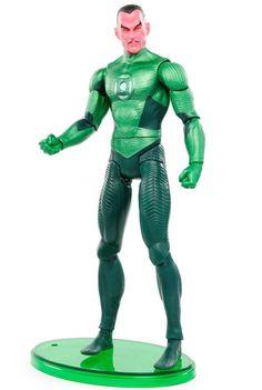 """DC Green Lantern Movie Masters SINESTRO w/ Base 6"""" Action Figure Mattel 2011 #Mattel"""