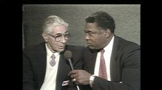 The best Yankee broadcast combo ever- Phil Rizzuto and Bill White.