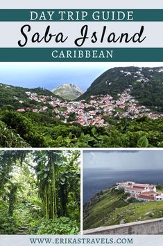 Saba island is a gem of the Caribbean. This day trip guide from St Maarten highlights the little island's charm and reveals the best hikes and things to do in Saba. Little Island, Love Island, Travel Guides, Travel Tips, Stuff To Do, Things To Do, Best Hikes, Beautiful Islands, Day Trip