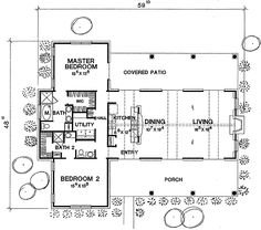 House plans bathroom & master