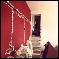 Preparando las paredes...