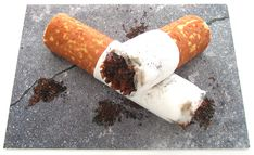 Yes it's really a cigarette cake. Via this year's Great British Bake Off winner Frances Quinn #GBBO Yuck!