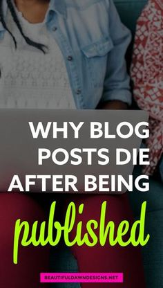 Talking about why no one's reading your blog posts. Blogging Tips. Social Media Tips.