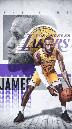 Lebron James- Los Angeles Lakers. on Behance  0e18771e9012