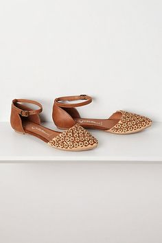 Lovins Floral Flats. Anthropologie