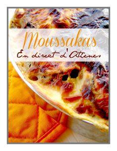 Μουσακάς Le moussakas (j'insiste, on ne dit pas la moussaka, en grec c'est masculin...) est bien le plat qui vient à l'esprit de tous comme plat traditionnel grec ! Et pourtant... on n'en mange pas souvent ici, et je dois bien avouer que si ce n'était...