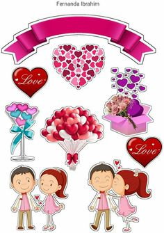 Arts And Crafts, Paper Crafts, Cake Toppers, Embellishments, Origami, Cake Decorating, Balloons, Anniversary, Clip Art