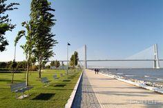 Progettazione Parco del Tejo e Trancão