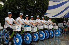 Tuần lễ Thương hiệu quốc gia 2016 mở màn bằng chương trình Diễu hành đạp xe