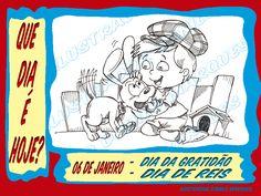 """SÉRIE """"QUE DIA É HOJE?"""" 43 - 06 de Janeiro - Dia da Gratidão; Dia de Reis.  #QueDiaÉHoje #datas #DatasComemorativas #CalendarioSazonal #DiaDaGratidão #DiaDeReis"""