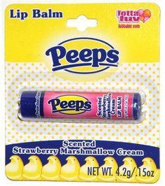 Peeps lip balms Strawberry Marsh Mellow Cream!!!