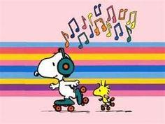 Snoopy & Woodstock - Roller Skating & listening to the music soon in Mundo sobre Ruedas santo domingo!