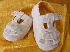 Sweet diy baby shoes! Sweet diy baby shoes!