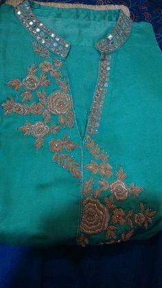 Zardosi Embroidery, Hand Work Embroidery, Beaded Embroidery, Embroidery Designs, Light Background Images, Lights Background, Kamiz, Blouse Designs, Suits