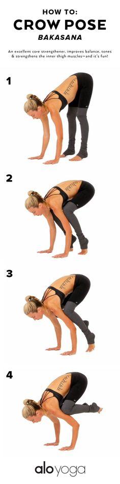 Crow pose - how to. Tara Tominaga Art Photography Yoga www.taramtominaga.com
