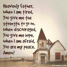 God is my provider!
