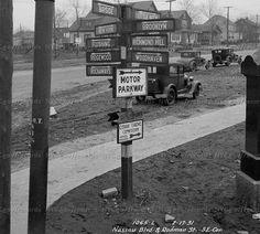 QUEENS SIGNPOST, 1931 - Forgotten New York