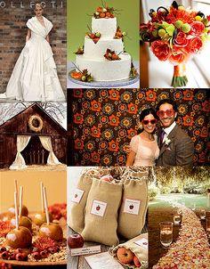 wedding colors fall | ... wedding ideas com wedding wire the weddingvendors com