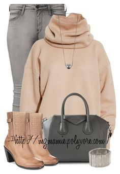 """""""Untitled #2638"""" by mzmamie ❤ liked on Polyvore featuring Lee, Acne Studios, Givenchy, ECCO, Pieces, women's clothing, women, female, woman and misses"""