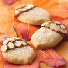 Chocolate-Topped Maple Acorns