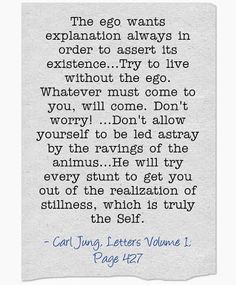 Carl Jung, letters, Vol. I