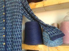 Tweed hilo cono ovillo #handmade