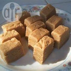 Rezeptbild: Erdnussbutter Fudge