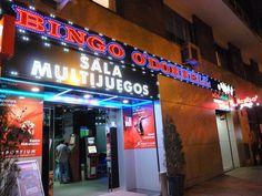 Rotulo de leds vistos bingo en madrid