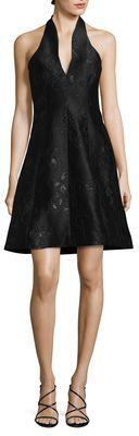 Halston Organic Jacquard Dress