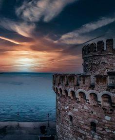 Thessaloniki, Tower Bridge, Greece, Clouds, Travel, Outdoor, Beautiful, Instagram, Fotografia