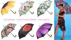 Motivschirme * Blumen * Onlineshop www.coco24.de #regenschirm #umbrella #parasol #blumen