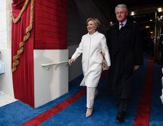 Trump Inauguration: Donald Trump Applauds Hillary Clinton
