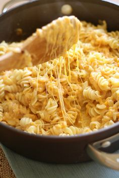 Stovetop Butternut Macaroni and Cheese Recipe ~ Says: This mac n' cheese are what dreams are made of. Sweet from the squash, salty and creamy from the cheese and all with a nice bite from the pasta