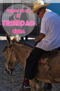 Travel tips and Things to do in Trinidad Cuba