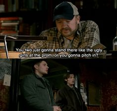 Bobby IS the master of sass! <3