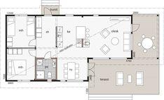Villa, Garage, Floor Plans, Cottage, Cabin Ideas, House, Life, Summer, Carport Garage