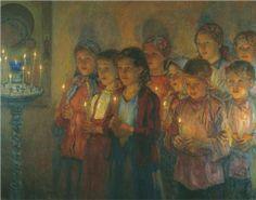 In the Church by Nikolay Bogdanov-Belsky