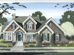 Eplans Cape Cod House Plan - Four Bedroom Cape Cod - 2873 Square Feet and 4 Bedrooms(s) from Eplans - House Plan Code HWEPL67687