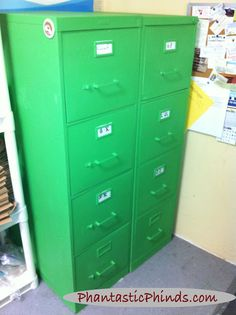How to Make a Metal File Cabinet Look Better thumbnail | DIY ...