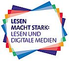 Lesen macht stark - projects devoted to the promotion of reading with digital media. Workshop, Stark, Social Security, Cards, Logo, Teaching Ideas, Promotion, Material, Campaign