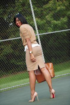 I need a good khaki skirt...