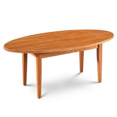 Shaker Oval Coffee Table