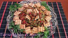 Αλμυρό μενού Πρωτοχρονιάς Christmas Cooking, Pasta Salad, Cheese, Ethnic Recipes, Food, Crab Pasta Salad, Christmas Kitchen, Essen, Meals