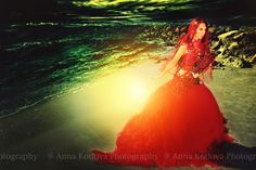 "Model: Olga Chulgareva Dress ""Scarlet Sails"" by https://www.facebook.com/annakotlovaphotography"