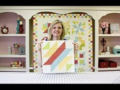 Wishes Block Eight: Mrs Taft's Choice - Fat Quarter Shop - YouTube