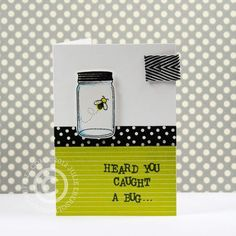 How cute is this? I think I have just the stamps to make one of these! CaughtABug1