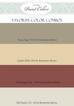 Color scheme for living/dining/kitchen