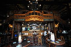 Irish pub -- Oberhausen.  Hard to find more character per square inch anywhere in the world.