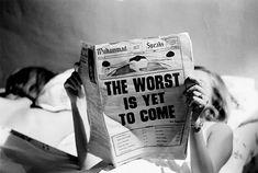 Steve Schapiro The Worst is Yet to Come, New York, c. 1968 16 x 20 Silver Gelatin Photograph, Ed. 25