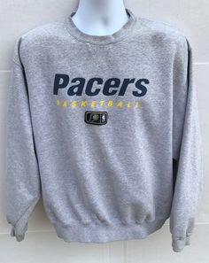 Vintage Nike Sportswear Indiana Pacers Pullover Crewneck Sweatshirt L  90bf23a18